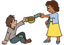 Liefdadigheid royalty-vrije illustratie