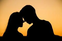 In liefde Royalty-vrije Stock Foto's