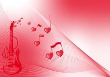 Liefde aan muziek Royalty-vrije Stock Afbeeldingen