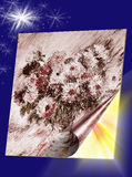 Liefde als bloemen wordt vernietigd die De zon zal opnieuw spoedig komen Stock Afbeelding