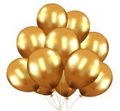 Liefde Baloon op wit, Impulshart wordt ge?soleerd dat: het rode concept van de valentijnskaartliefde, Valentijnskaartendag ısola stock illustratie