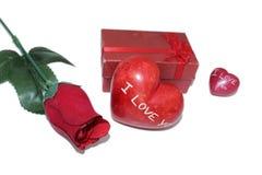 Liefde in cyclus stock foto