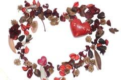 Liefde in cyclus stock afbeelding