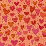 Liefde. De achtergrond van het hart Royalty-vrije Stock Foto