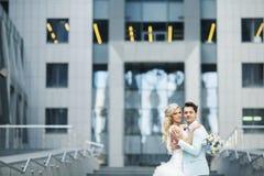 Liefde in de Stad Royalty-vrije Stock Foto's