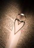 Liefde, de universele taal royalty-vrije stock foto