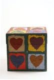 Liefde in een doos royalty-vrije stock afbeelding