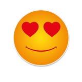 Liefde emoticon Royalty-vrije Stock Foto's