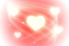 Liefde en harten Royalty-vrije Stock Afbeelding