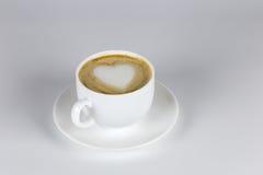 Liefde en koffie Stock Fotografie