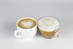 Liefde en koffie Royalty-vrije Stock Afbeeldingen