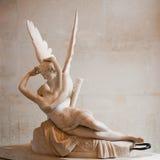Liefde en Psyches, door Antonio Canova Royalty-vrije Stock Foto