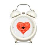 Liefde en tijd Royalty-vrije Stock Afbeelding