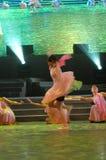 Liefde en toewijding dans-2007 Jiangxi-het Feest van het de Lentefestival Stock Foto