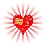 Liefde en verloren liefde stock illustratie