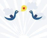 Liefde en Vrede aan de Aarde Royalty-vrije Stock Afbeeldingen