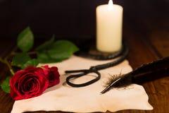 Liefde en zoete pijn Stock Foto