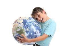 Liefde en zorg voor de Aarde en het milieu royalty-vrije stock afbeeldingen