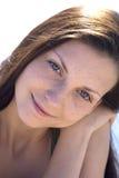 Liefde in haar ogen Royalty-vrije Stock Foto's