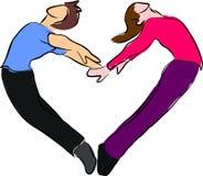Liefde of hart royalty-vrije illustratie