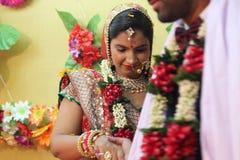 Liefde - huwelijk India Stock Afbeeldingen