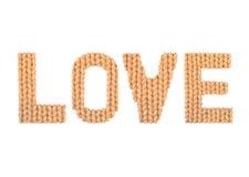 Liefde Kleurensinaasappel Stock Afbeelding