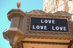 Liefde, liefde, liefde! Stock Afbeelding