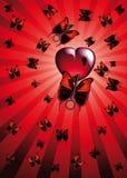 Liefde met eisers Stock Fotografie