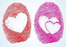 Liefde/Minnaars vector illustratie