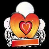 Liefde-nacht clubaffiche Stock Foto