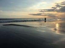 Liefde op het strand Royalty-vrije Stock Afbeeldingen