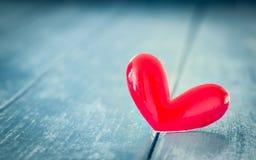 Liefde rood hart royalty-vrije stock fotografie