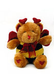 Liefde Teddy Royalty-vrije Stock Foto's