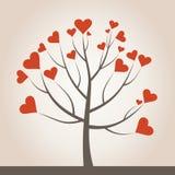Liefde tree3 vector illustratie