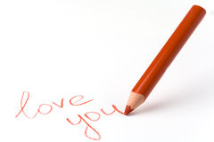 liefde u Stock Afbeeldingen
