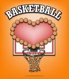 Liefde van basketbal Stock Foto's