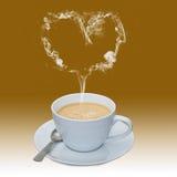 Liefde van Koffie Royalty-vrije Stock Foto's
