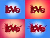 Liefde van rozen (PLAATS) Stock Foto's