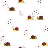 Liefde van slakken Stock Fotografie