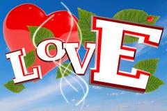 Liefde voor minnaars Stock Fotografie