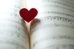Liefde voor muziek royalty-vrije stock foto's