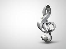Liefde voor muziek vector illustratie