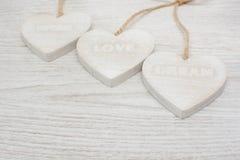 Liefde, wens, droom stock fotografie