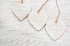 Liefde, wens, droom stock afbeelding