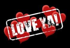 Liefde ya Stock Foto