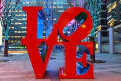 Liefdebeeldhouwwerk Stock Afbeeldingen