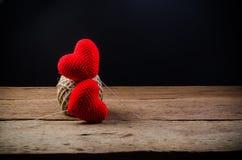 liefdehart, valentijnskaartconcept stock foto