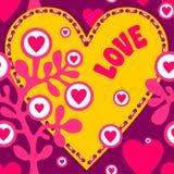 Liefdepatroon Stock Afbeelding