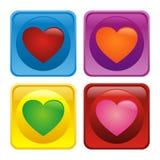 liefdepictogram Stock Foto