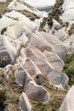 Liefdevallei in het nationale park van Goreme Cappadocia Royalty-vrije Stock Foto